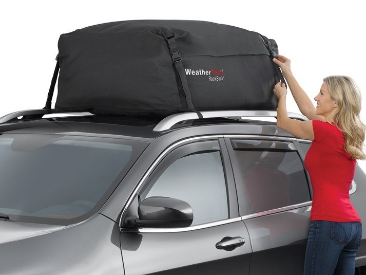 295570f163 2016 Jeep Compass | Rooftop Cargo Carrier - RackSack Cargo Bag ...