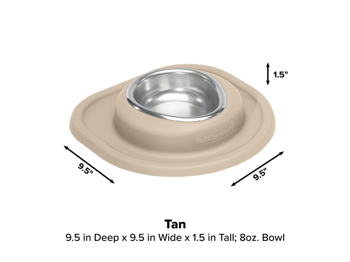 Elevated Dog Bowls Cat Dishes