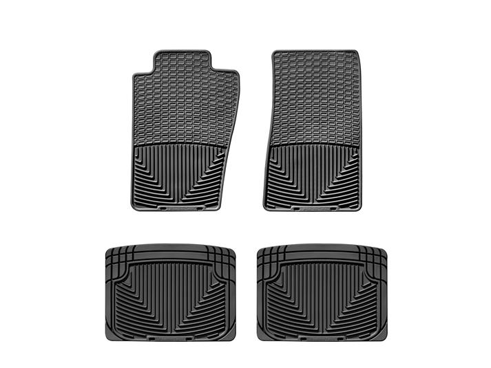 1998 Ford Explorer All Weather Car Mats All Season Flexible Rubber Floor Mats Weathertech
