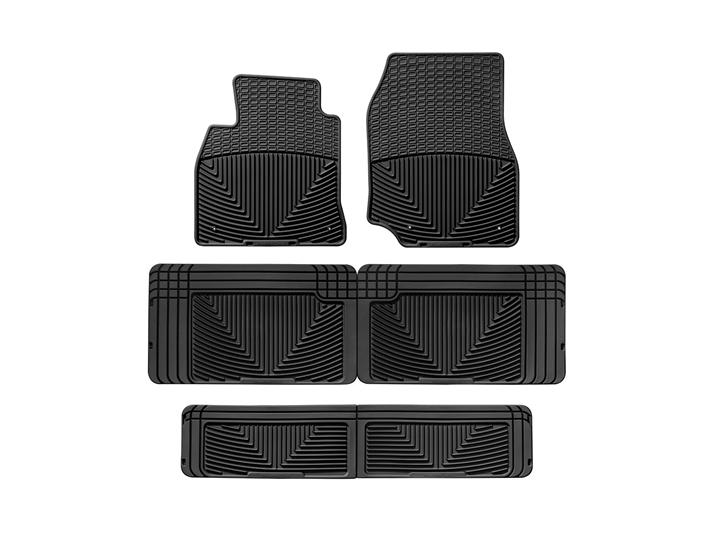 2000 Toyota Land Cruiser All Weather Car Mats All Season Flexible Rubber Floor Mats Weathertech