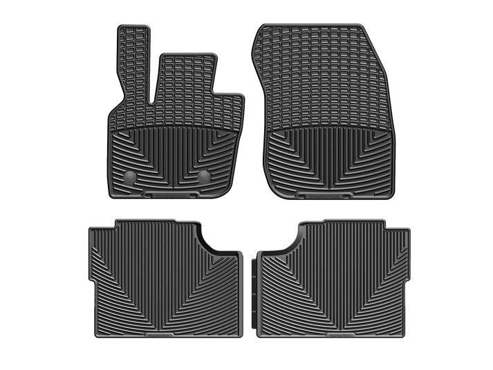 Rubber Floor Mat >> 2019 Ford Fusion All Weather Car Mats All Season Flexible Rubber