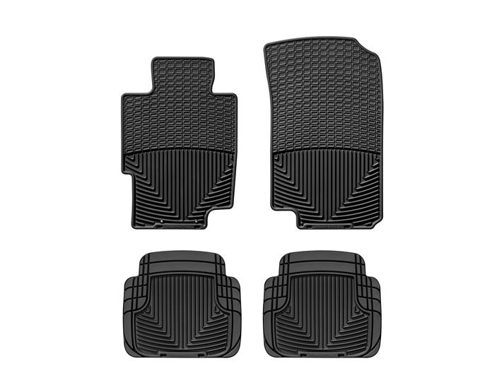 Acura TL AllWeather Car Mats All Season Flexible Rubber - 2006 acura tl floor mats