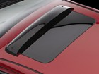 Sunroof Wind Deflector installed on Ford Fusion. BY WEATHERTECH