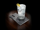 Weathertech_Coaster_on_wood_water_glass1 BY WEATHERTECH