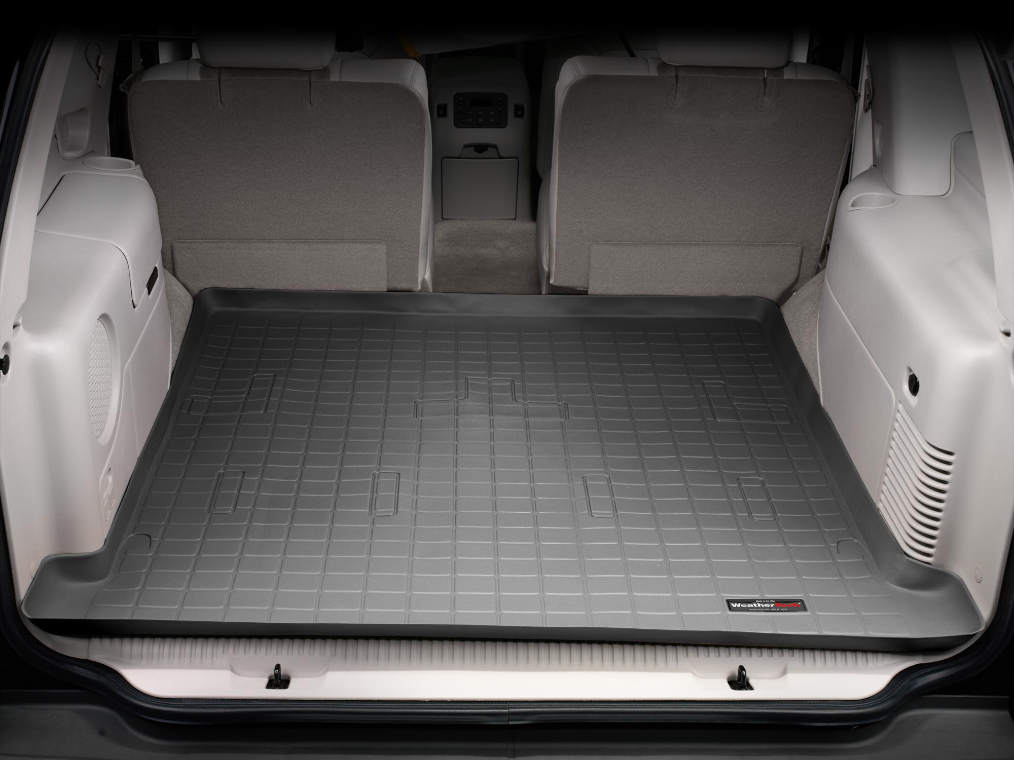 Cadillac Escalade 2002>2006 Vasca proteggi baule tappeto bagagliaio nero *277