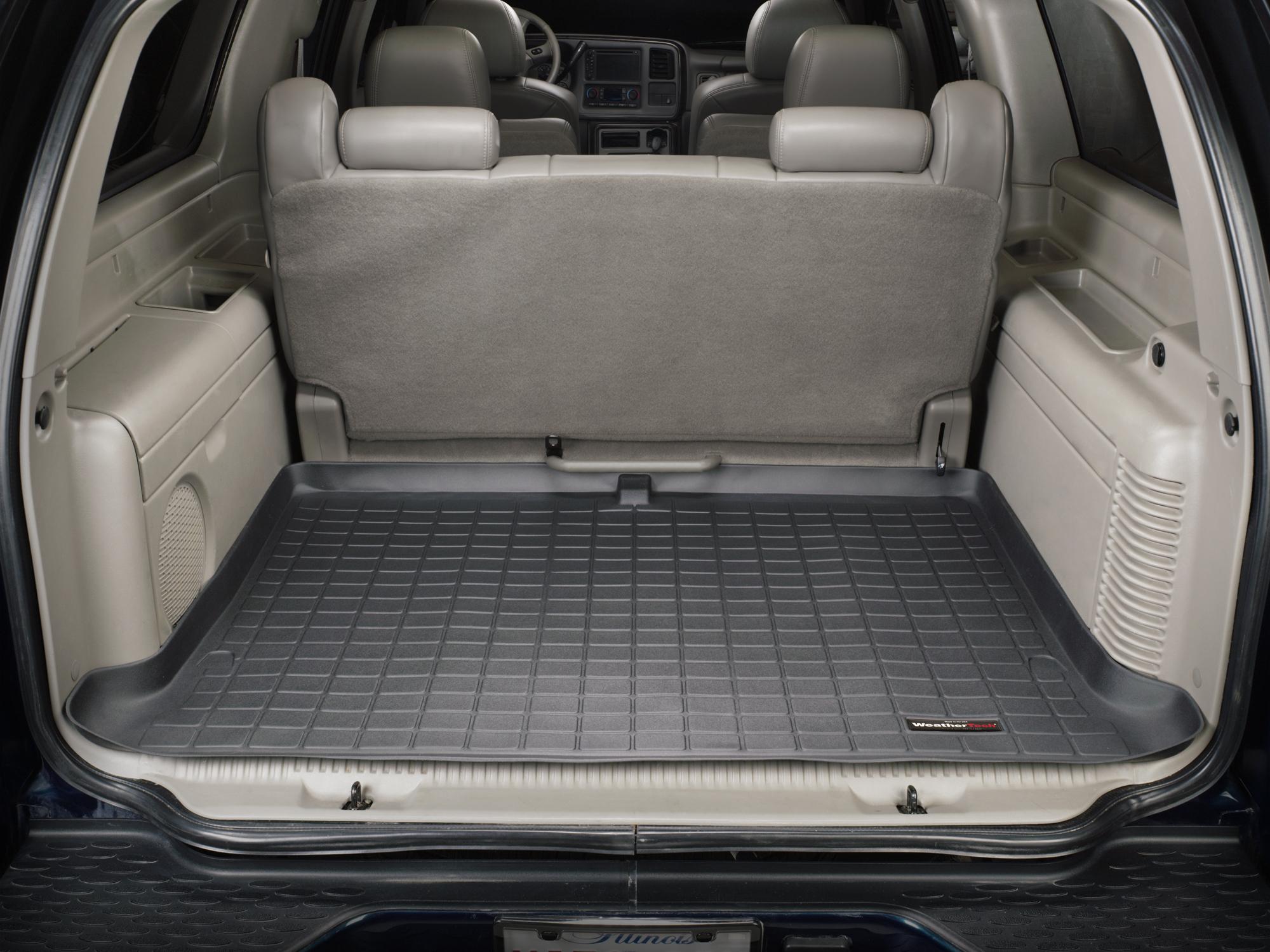 Cadillac Escalade ESV 2003>2006 Vasca baule tappeto bagagliaio nero *286