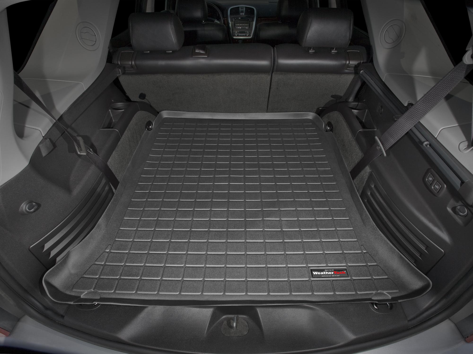 Cadillac SRX 2004>2009 Vasca proteggi baule tappeto bagagliaio nero *298