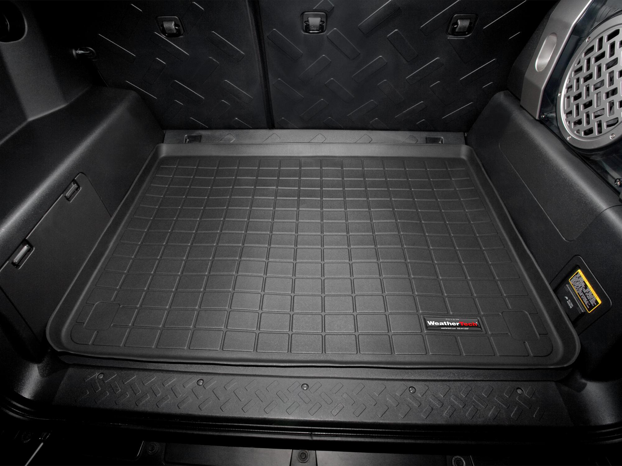 Toyota FJ Cruiser 2007>2014 Vasca proteggi baule tappeto bagagliaio nero *1223
