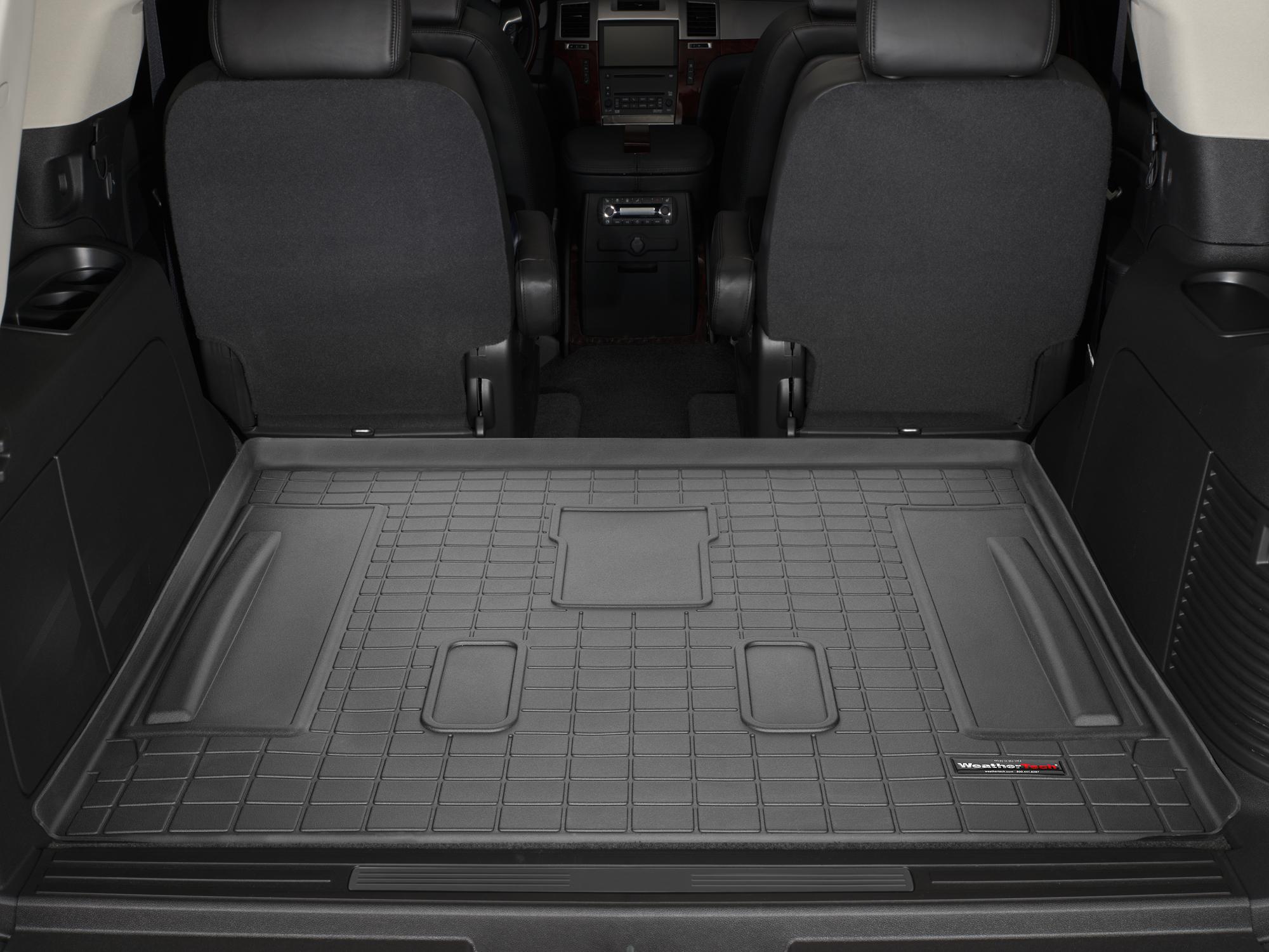 Cadillac Escalade 2007>2014 Vasca proteggi baule bagagliaio nero *280*
