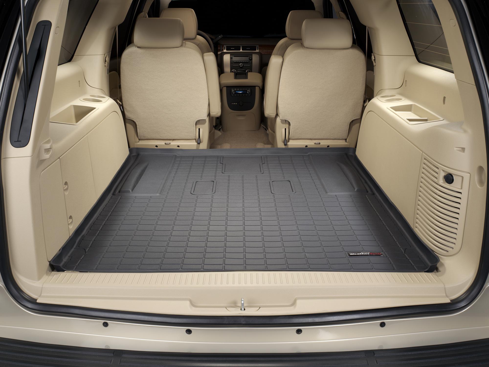 Cadillac Escalade ESV 2007>2014 Vasca baule tappeto bagagliaio nero *292