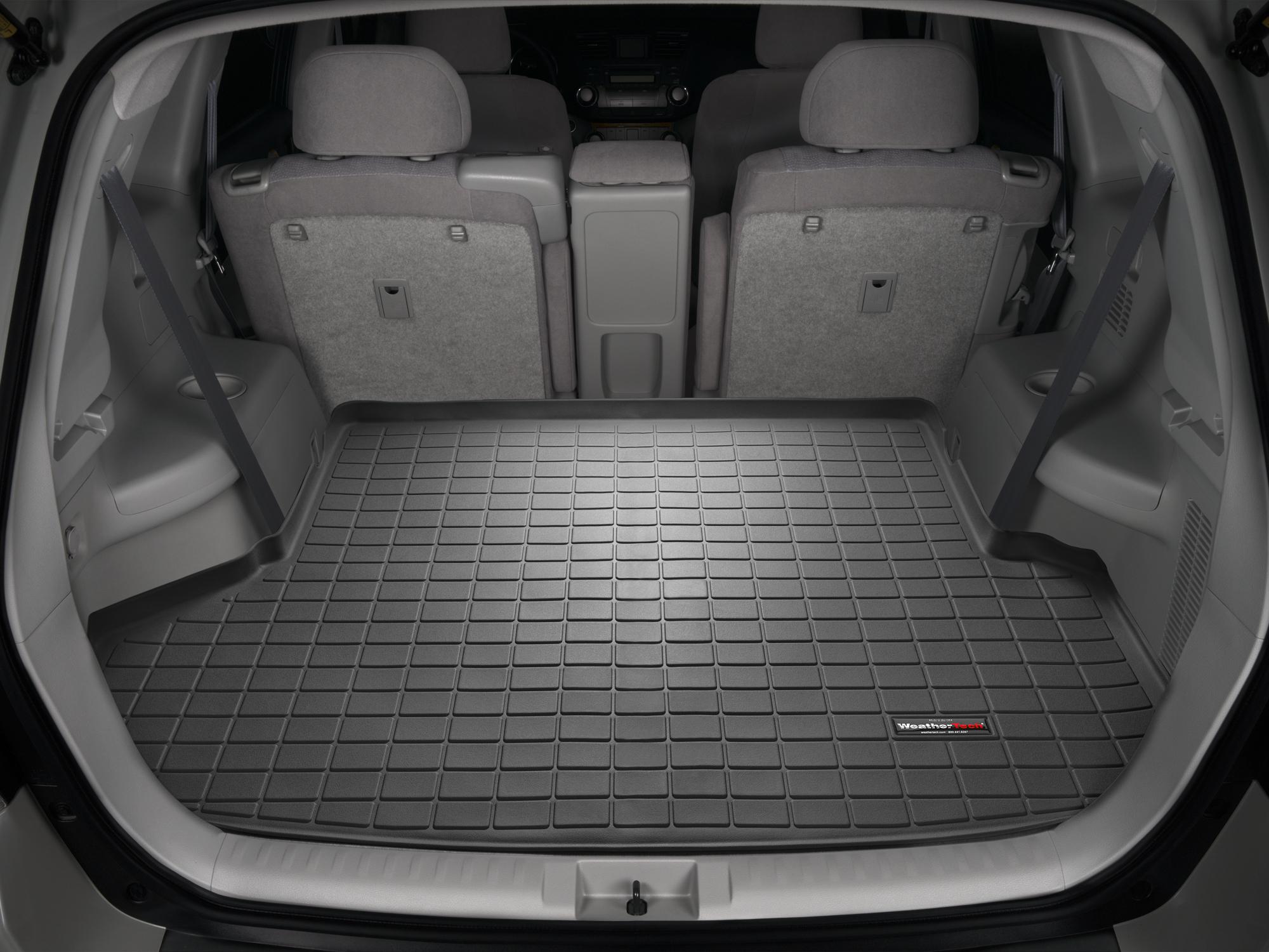 Toyota Highlander 2011>2013 Vasca baule WeatherTech bagagliaio nero *1226*
