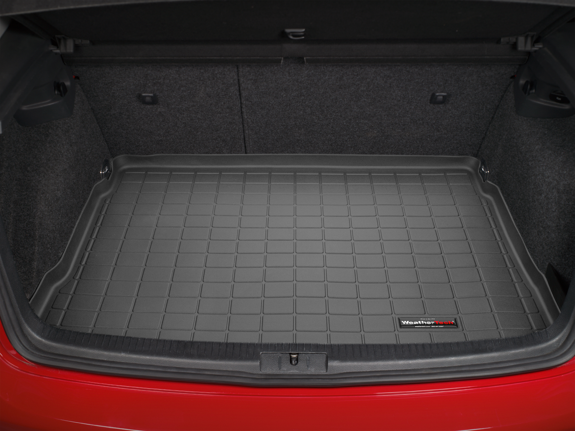 Volkswagen Golf 2003>2003 Vasca baule tappeto bagagliaio nero *1334