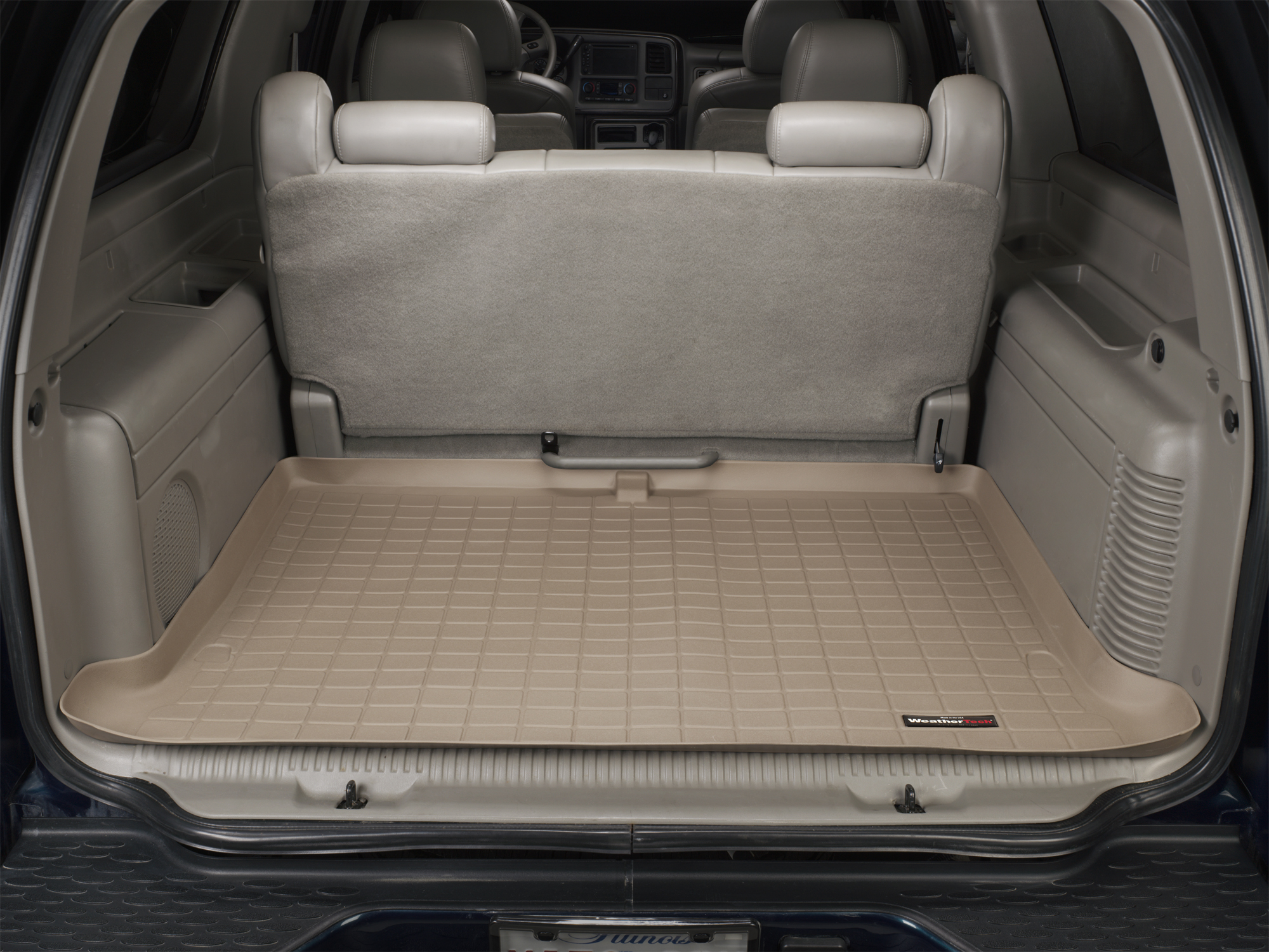 Cadillac Escalade ESV 2003>2006 Vasca baule bagagliaio marrone *284*