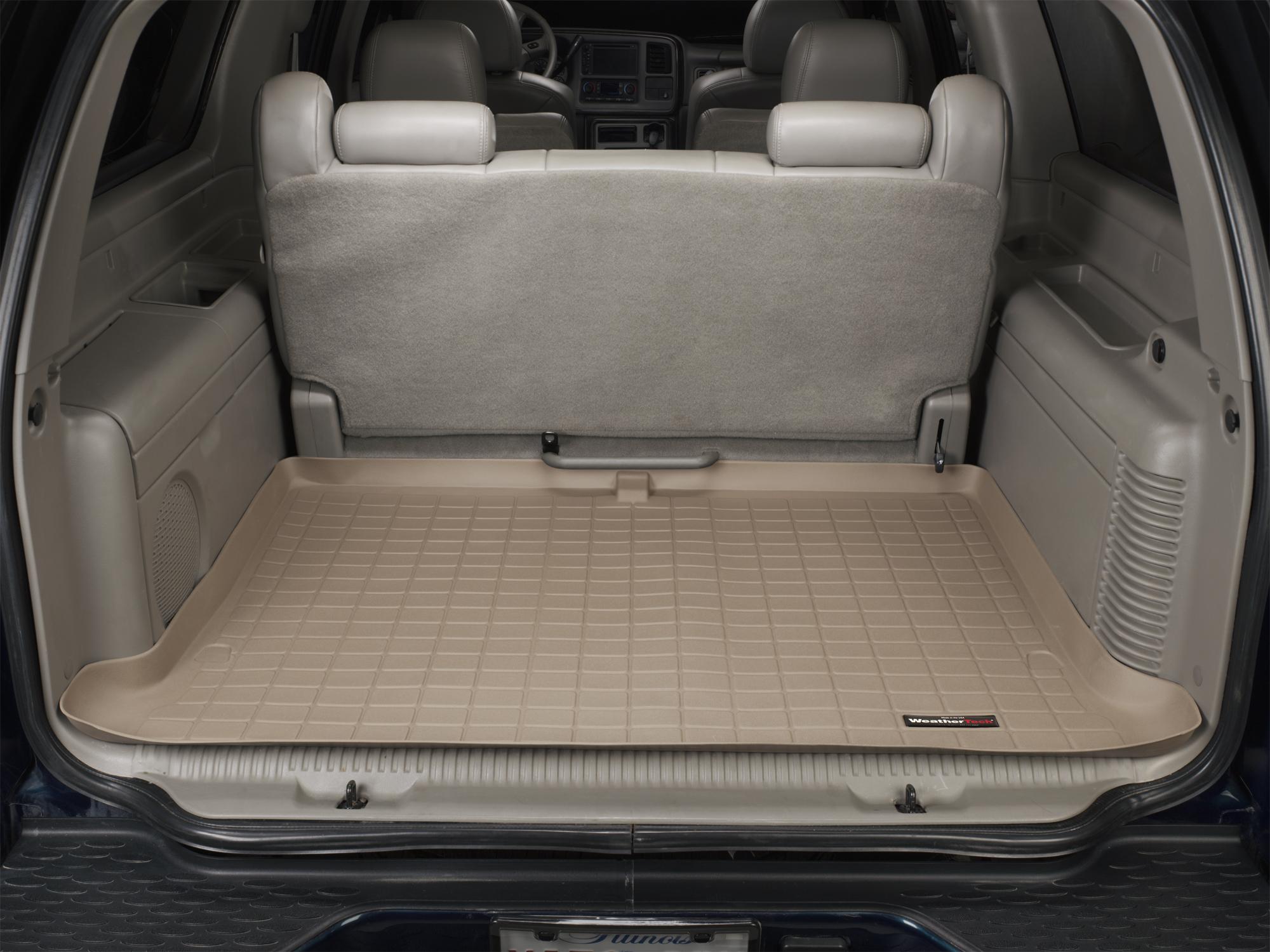 Cadillac Escalade ESV 2003>2006 Vasca baule tappeto bagagliaio marrone *284