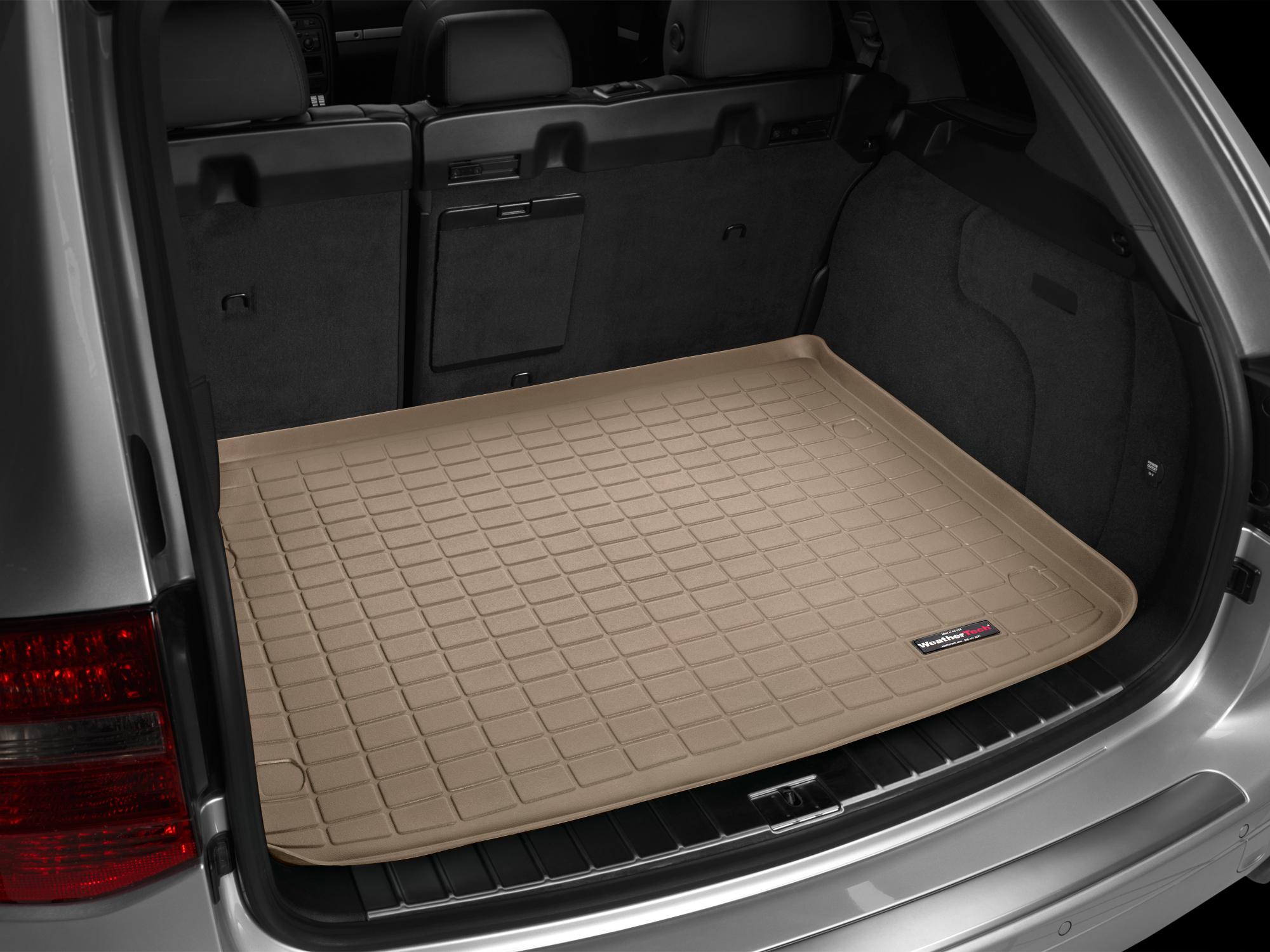 VW Touareg 2002>2009 Vasca baule Weathertech bagagliaio marrone *1427