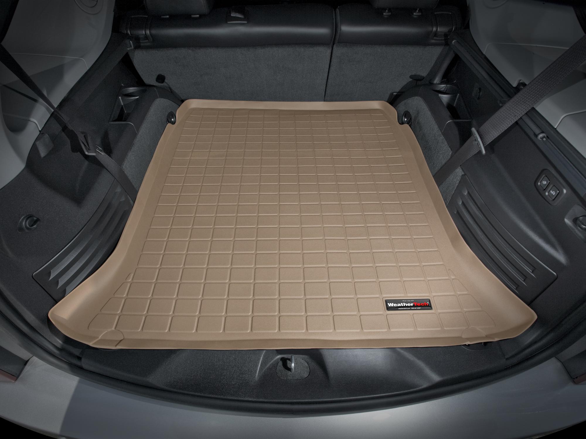 Cadillac SRX 2004>2009 Vasca proteggi baule tappeto bagagliaio marrone *297