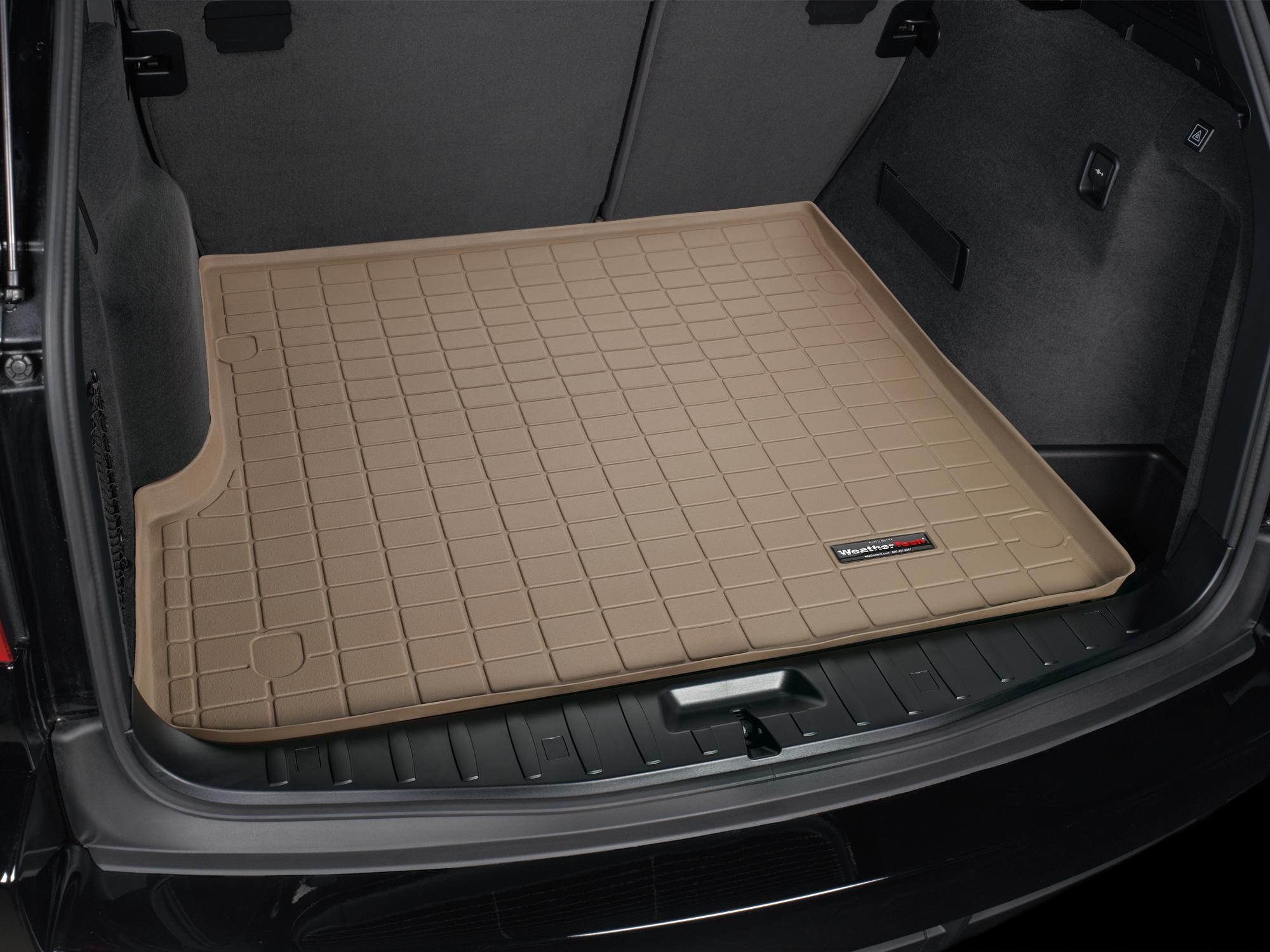 BMW X3 2010>2010 Vasca proteggi baule tappeto bagagliaio marrone *227