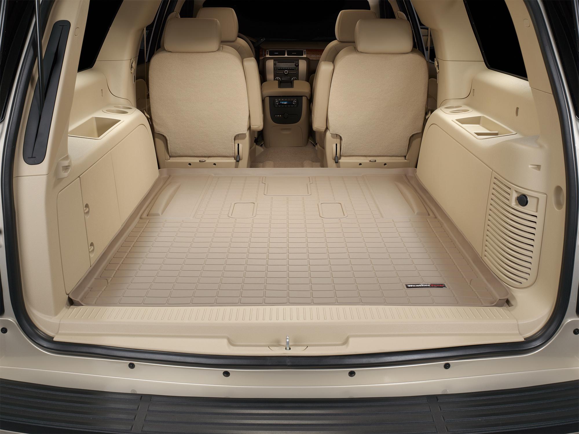 Cadillac Escalade ESV 2007>2014 Vasca baule tappeto bagagliaio marrone *290