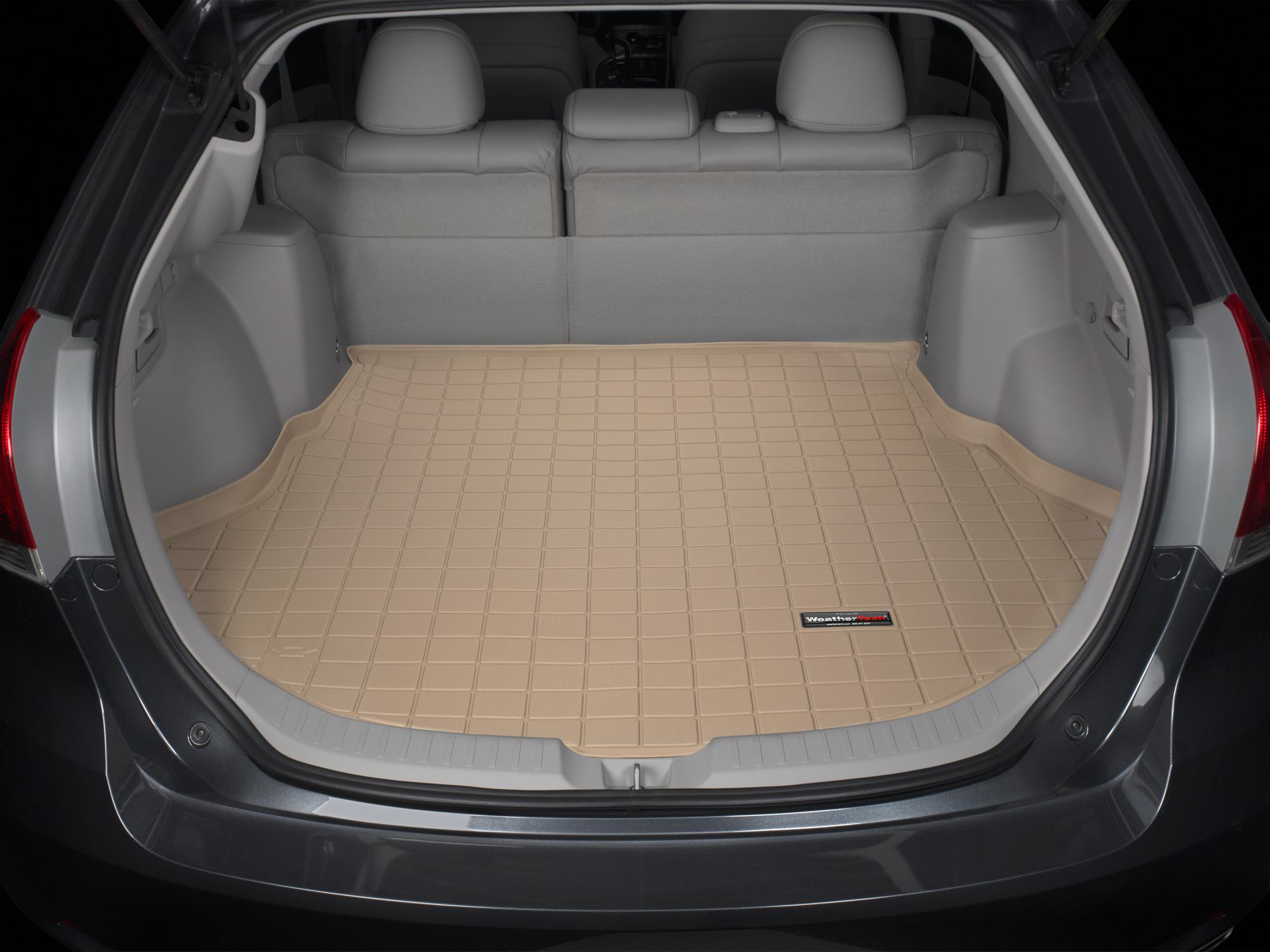 Toyota Venza 2009>2015 Vasca baule tappeto bagagliaio marrone *1308