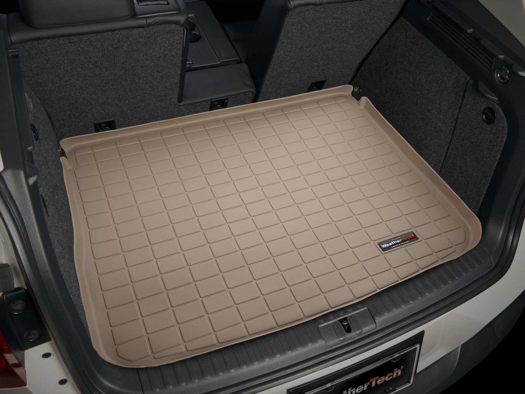Volkswagen Tiguan 2008>2015 Vasca baule tappeto bagagliaio marrone *1414