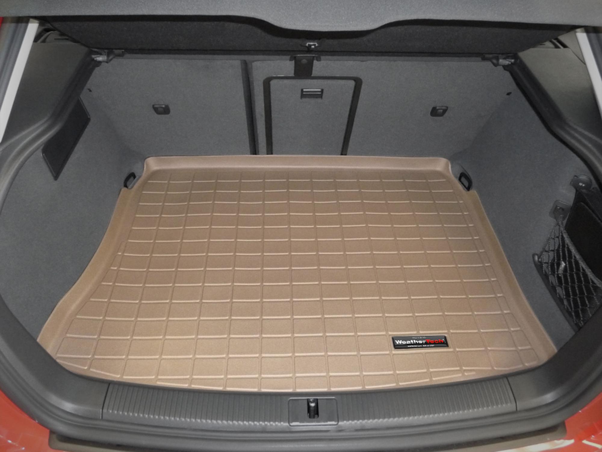 Audi A3 S3 2012>2012 Vasca proteggi baule tappeto bagagliaio marrone *15