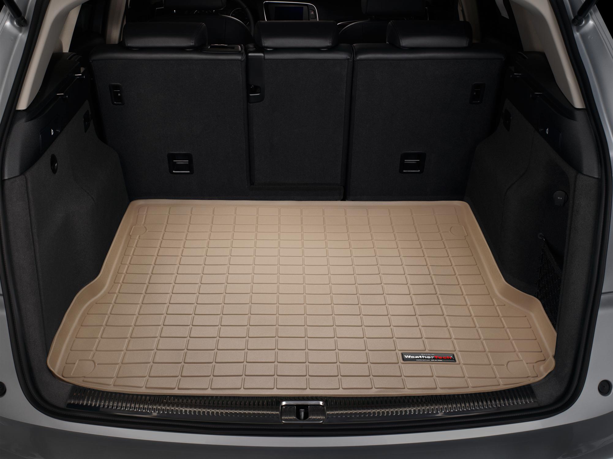 Audi SQ5 2013>2016 Vasca proteggi baule tappeto bagagliaio marrone *139