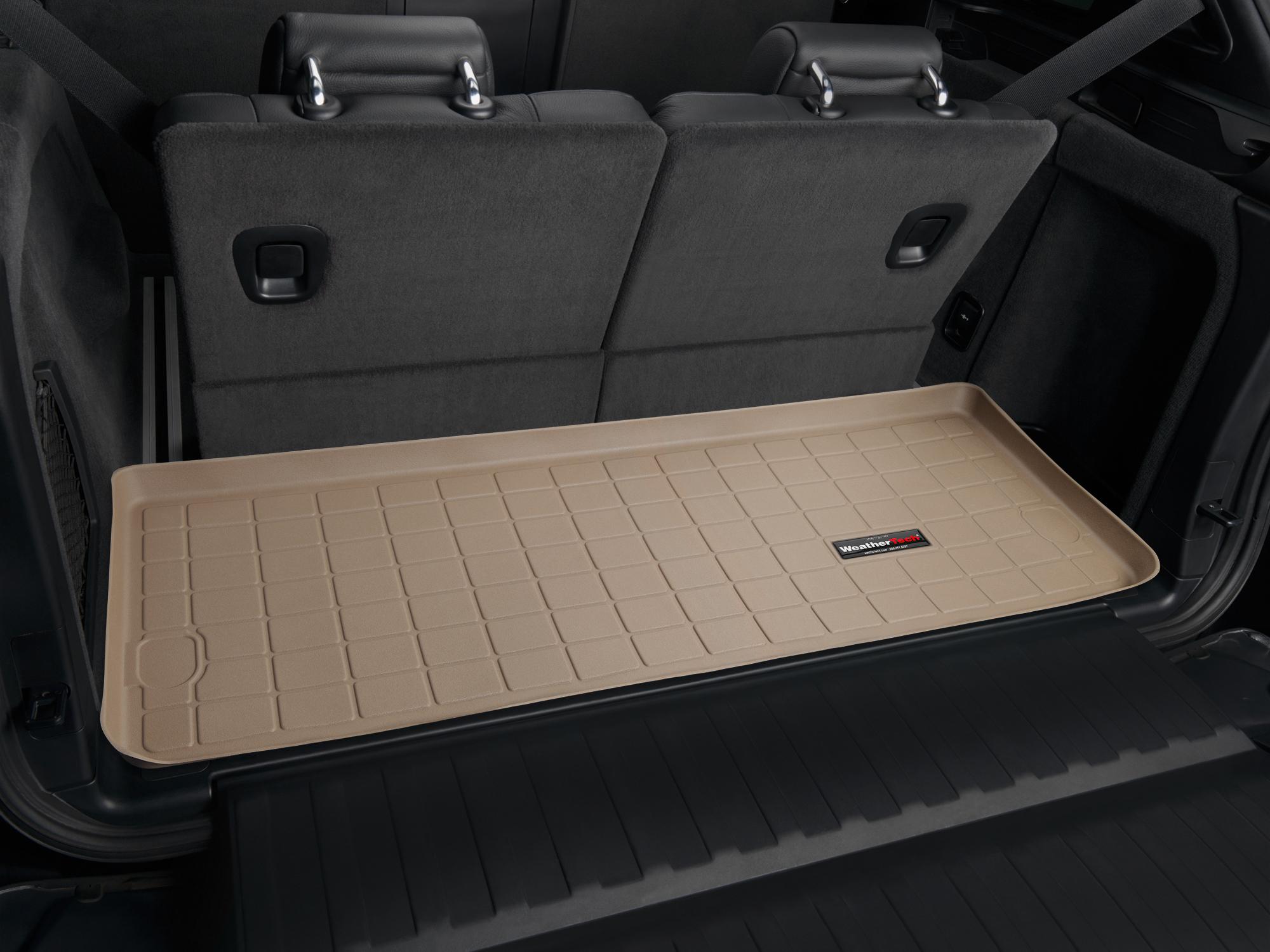 BMW X5 2007>2013 Vasca proteggi baule tappeto bagagliaio marrone *244