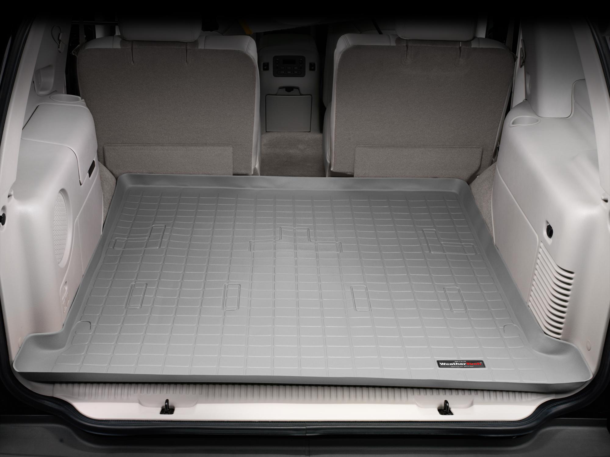 Cadillac Escalade 2002>2006 Vasca proteggi baule bagagliaio grigio *275*