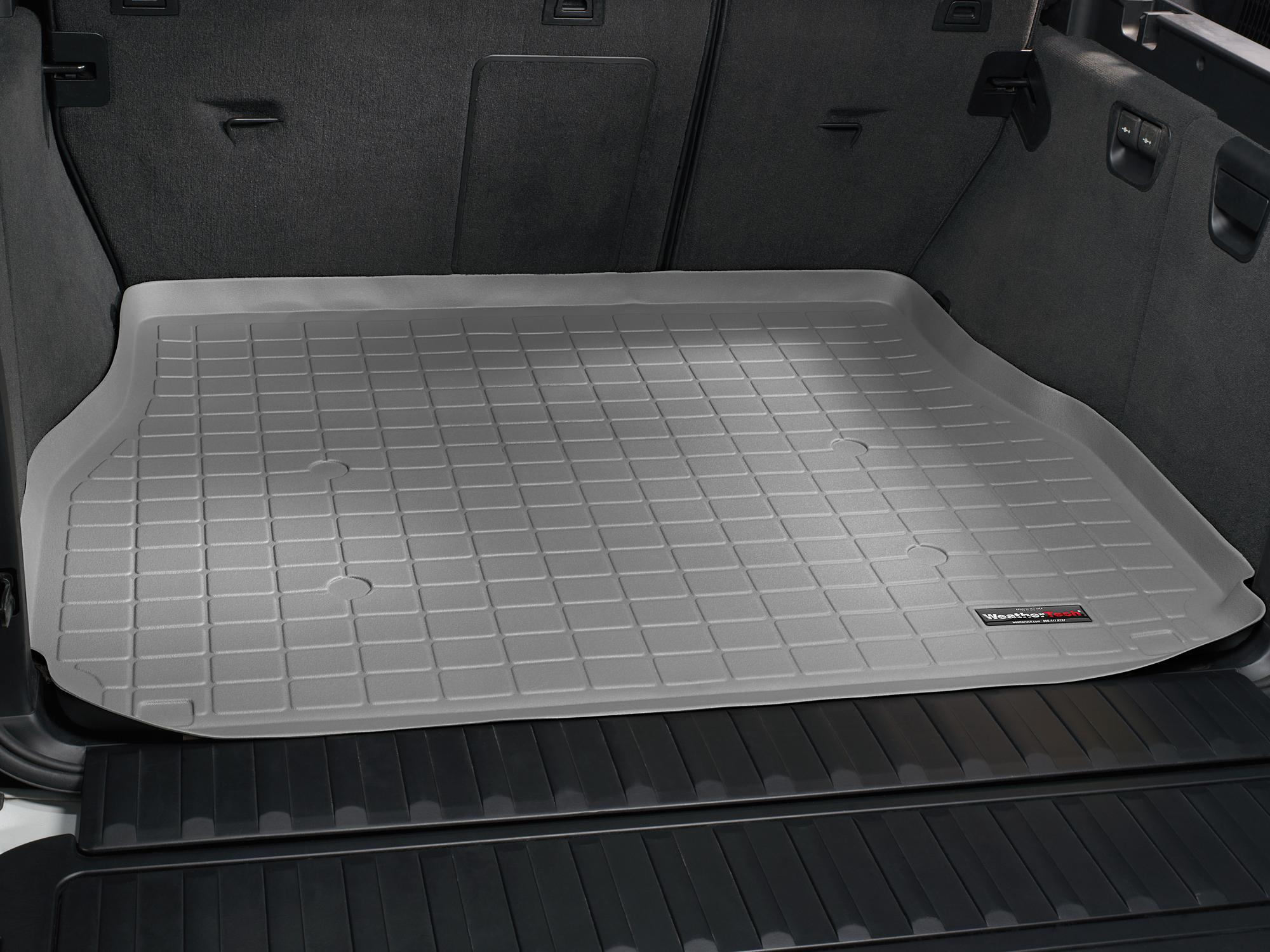 BMW X5 2000>2006 Vasca proteggi baule tappeto bagagliaio grigio *236