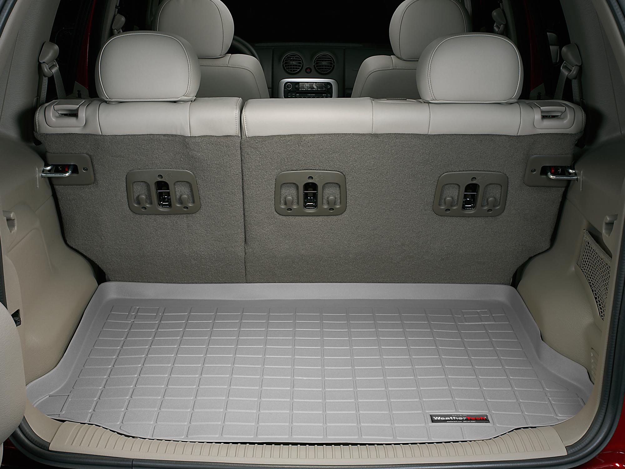 Jeep Liberty 2002>2007 Vasca proteggi baule tappeto bagagliaio grigio *631