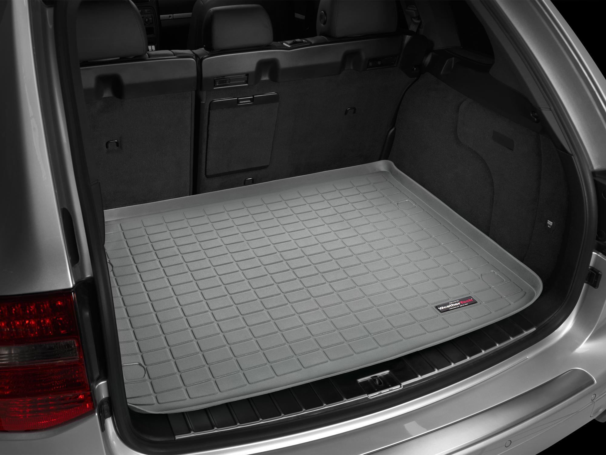 VW Touareg 2010>2010 Vasca baule Weathertech bagagliaio grigio *1429