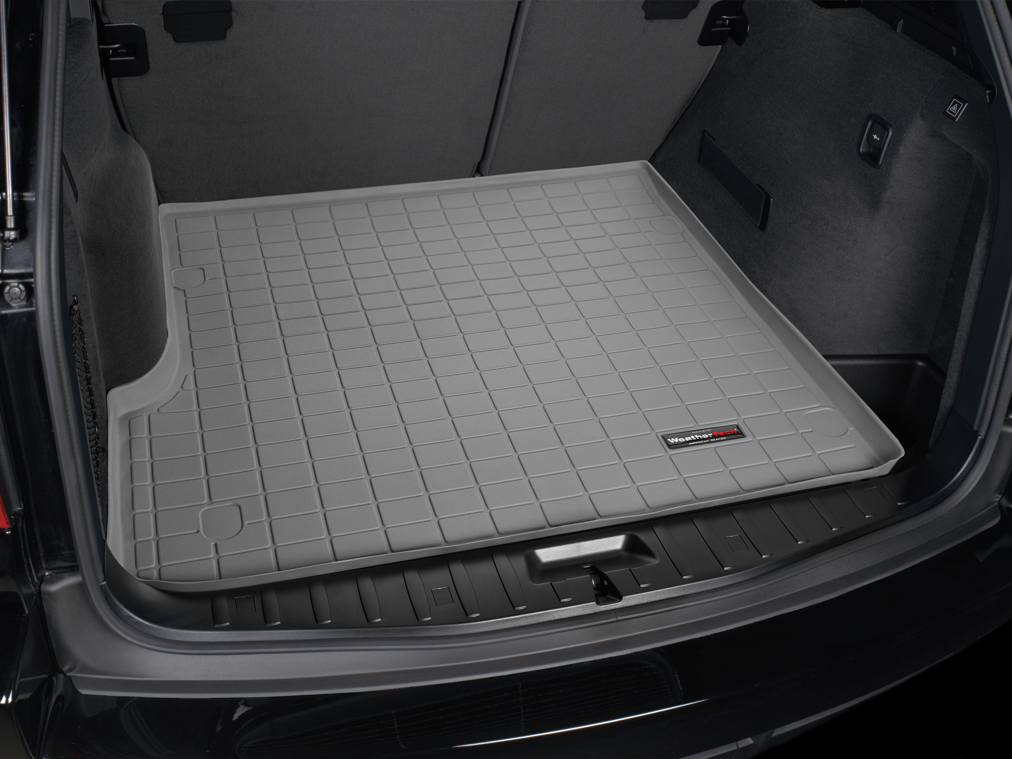 BMW X3 2010>2010 Vasca proteggi baule tappeto bagagliaio grigio *225