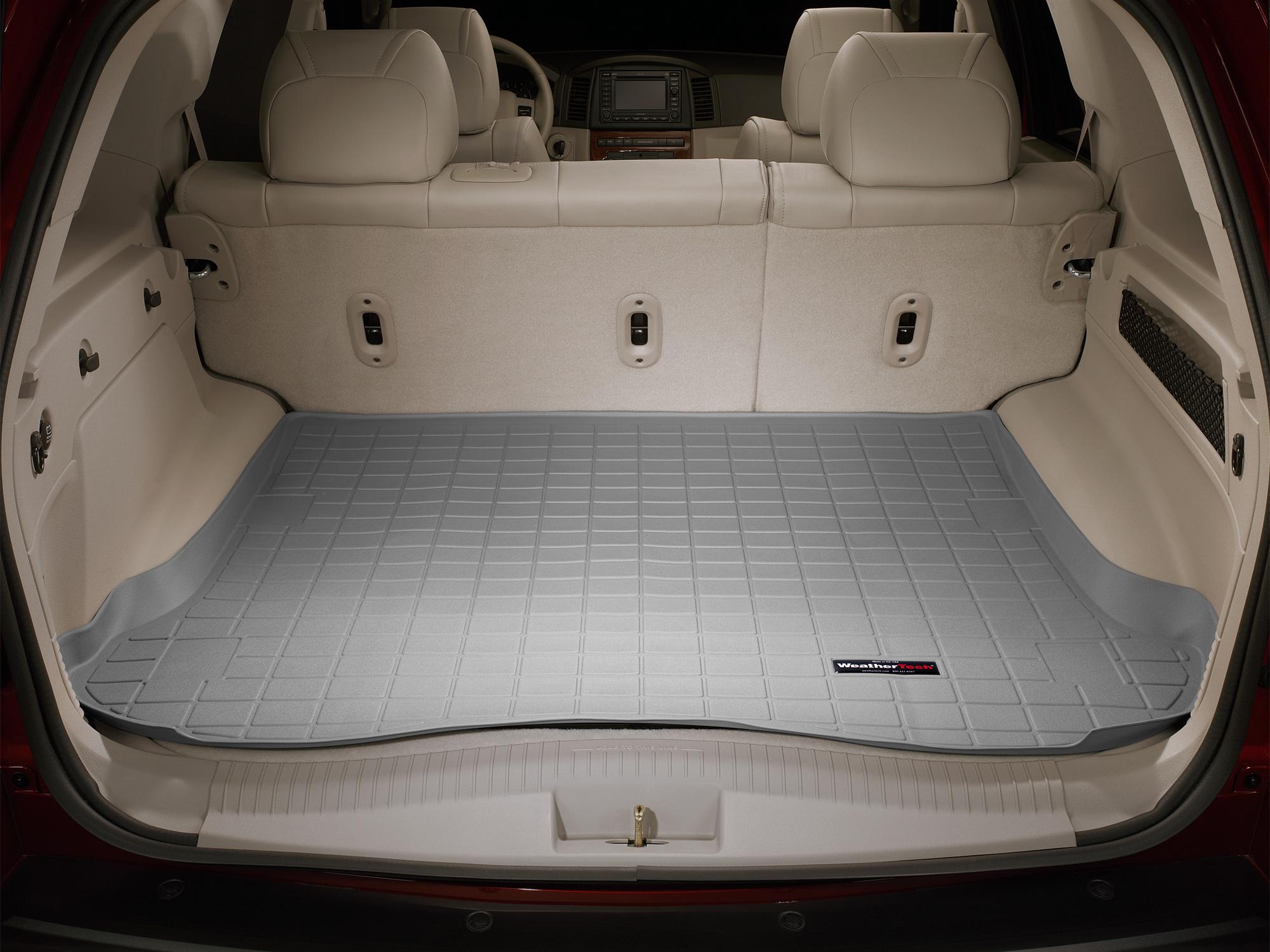 Jeep Grand Cherokee 2005>2010 Vasca baule tappeto bagagliaio grigio *625