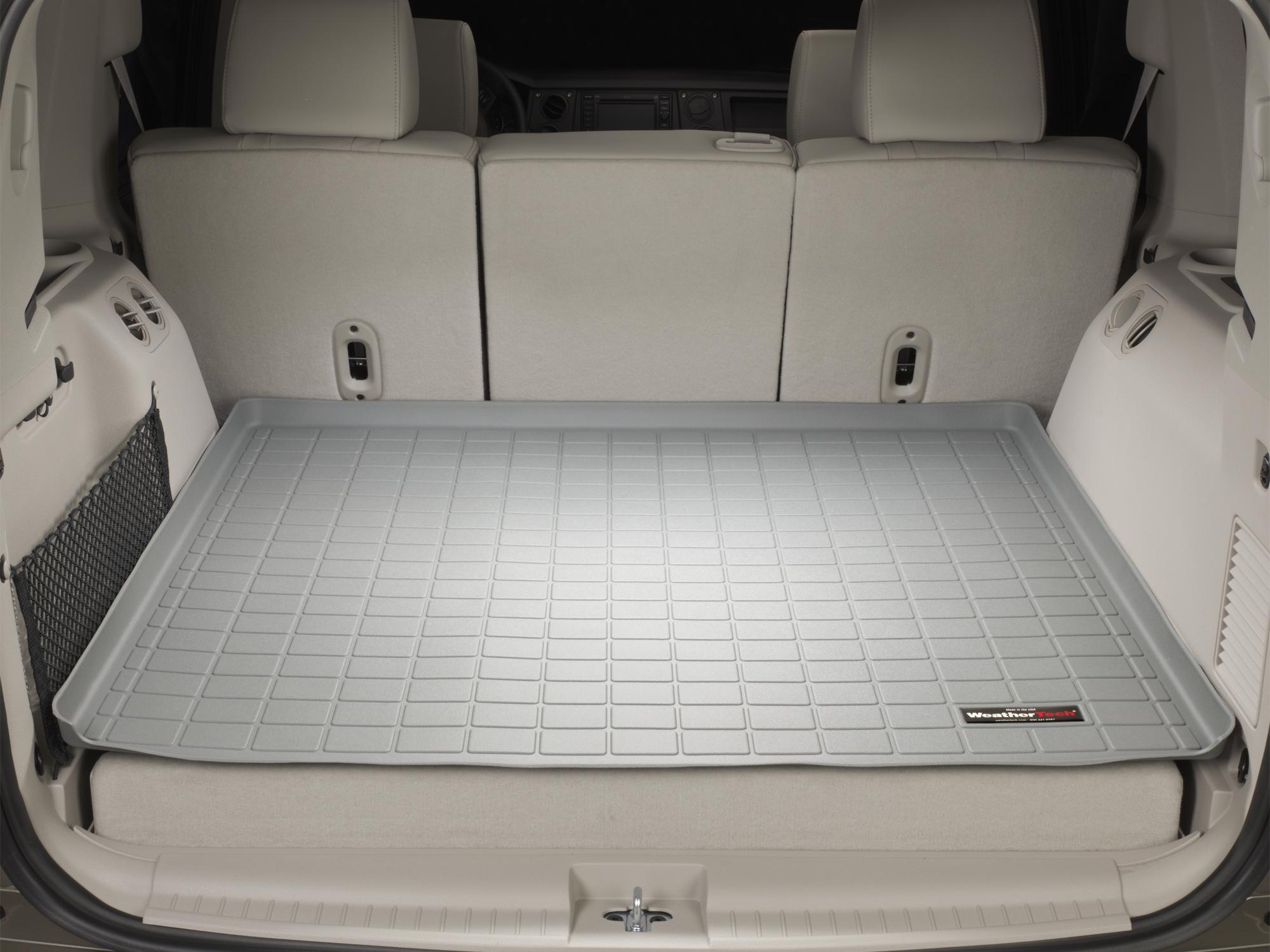 Jeep Commander 2006>2010 Vasca proteggi baule tappeto bagagliaio grigio *613