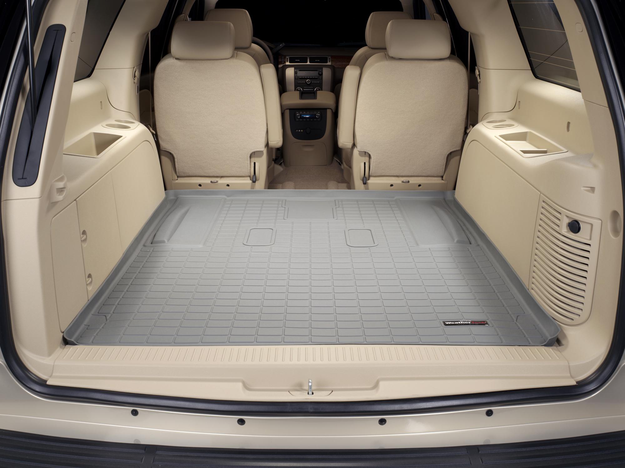 Cadillac Escalade ESV 2007>2014 Vasca baule bagagliaio grigio *288*