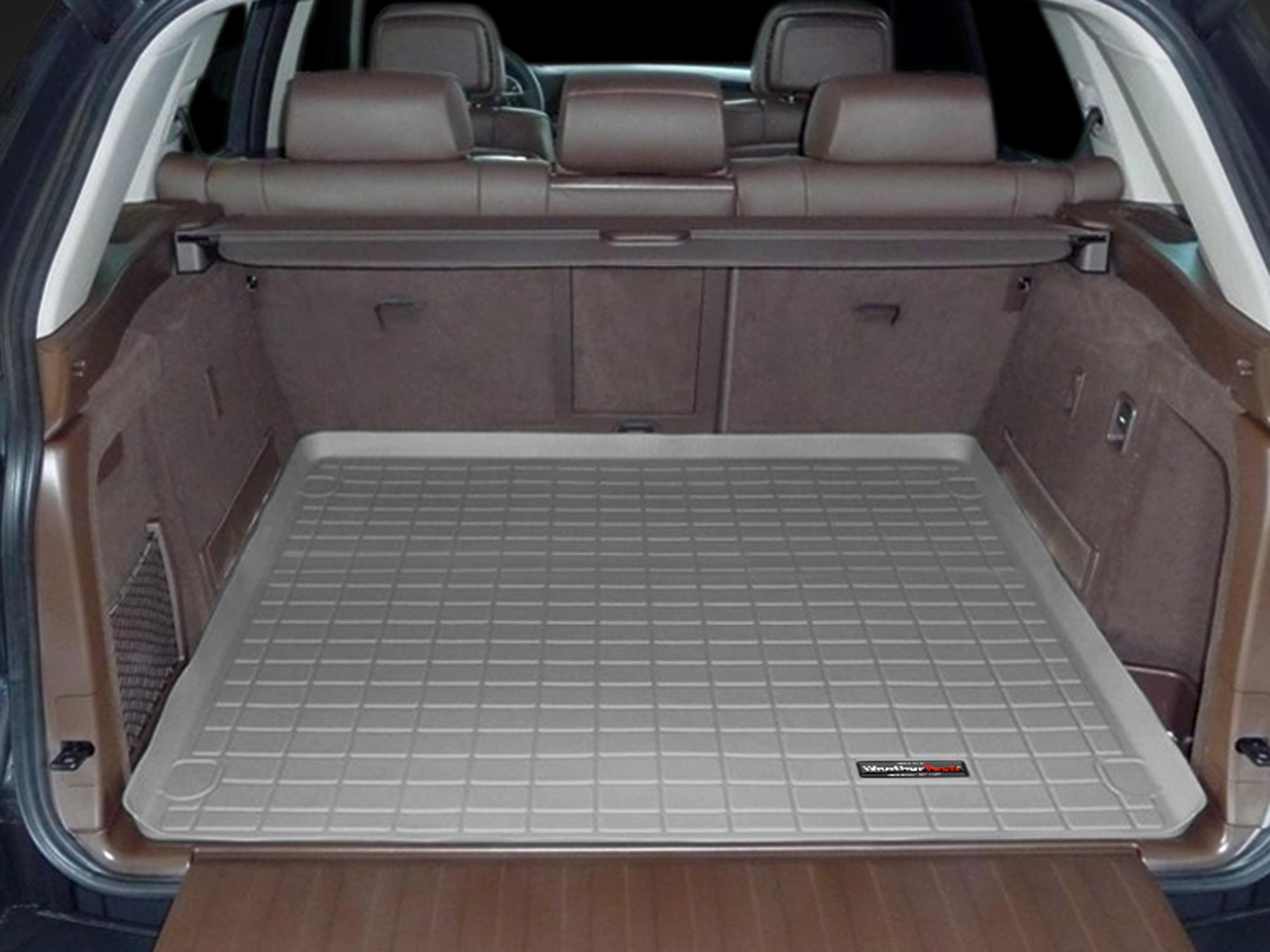 BMW X5 2007>2013 Vasca proteggi baule tappeto bagagliaio grigio *241