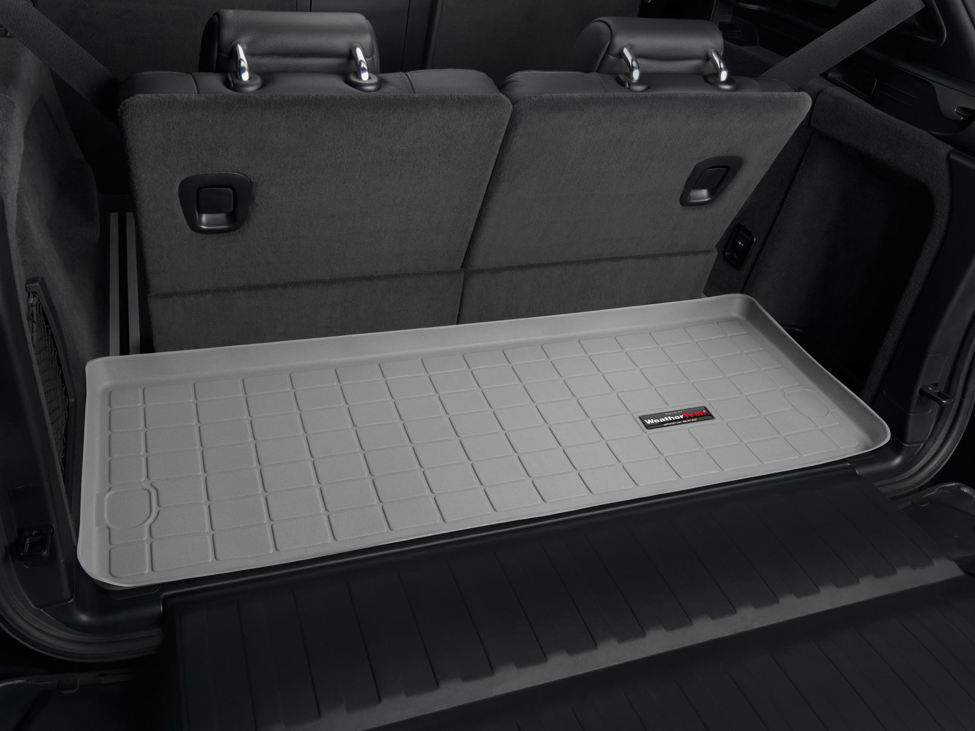 BMW X5 2007>2013 Vasca proteggi baule tappeto bagagliaio grigio *242