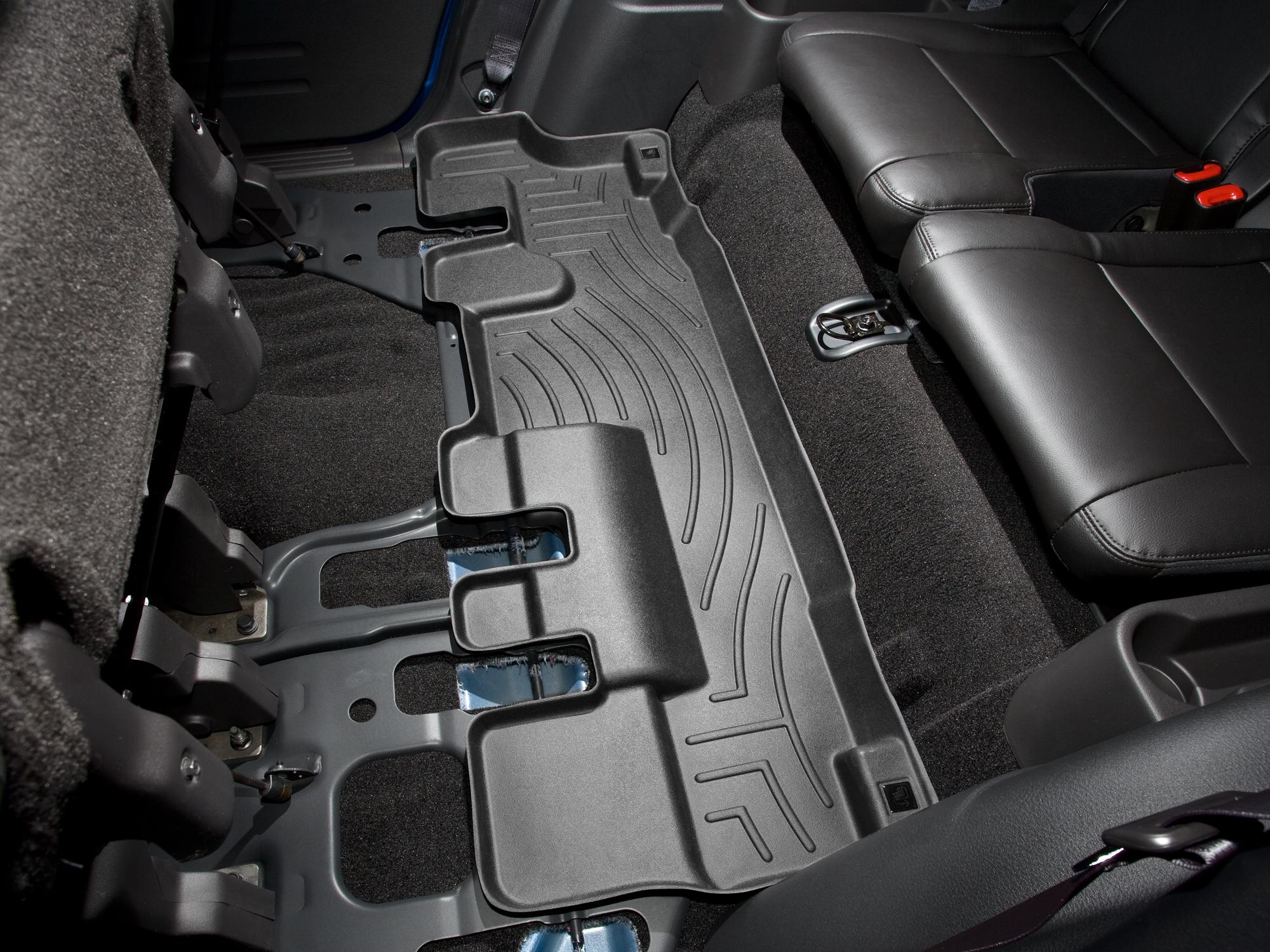 Tappeti gomma su misura bordo alto Ford Explorer 06>10 Nero A860*