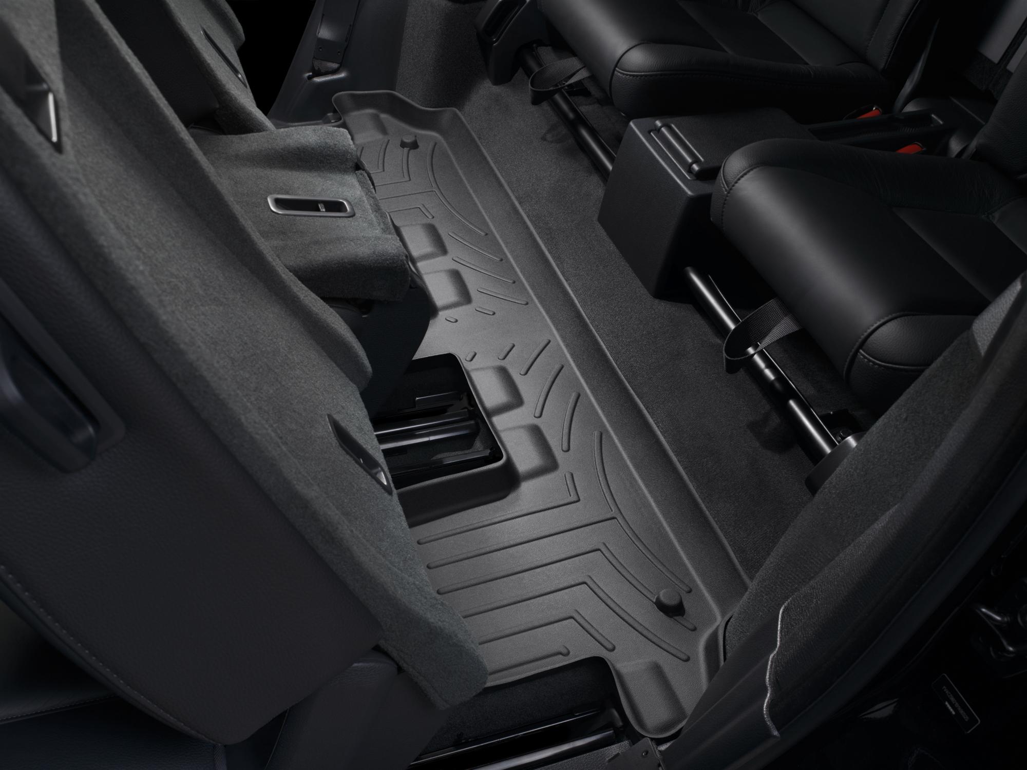 Tappeti gomma su misura bordo alto Volvo XC90 03>14 Nero A4451*