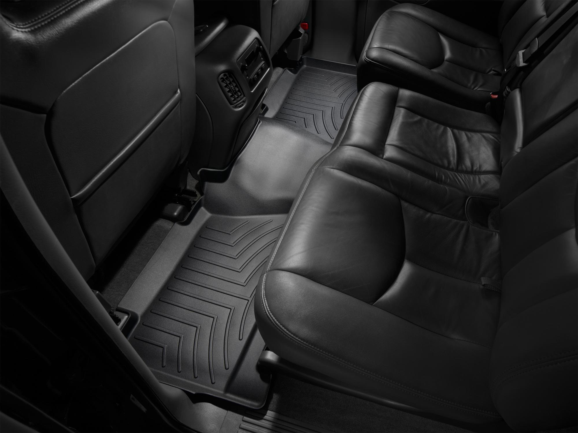 Tappeti gomma su misura bordo alto Chevrolet Silverado 01>06 Nero A156