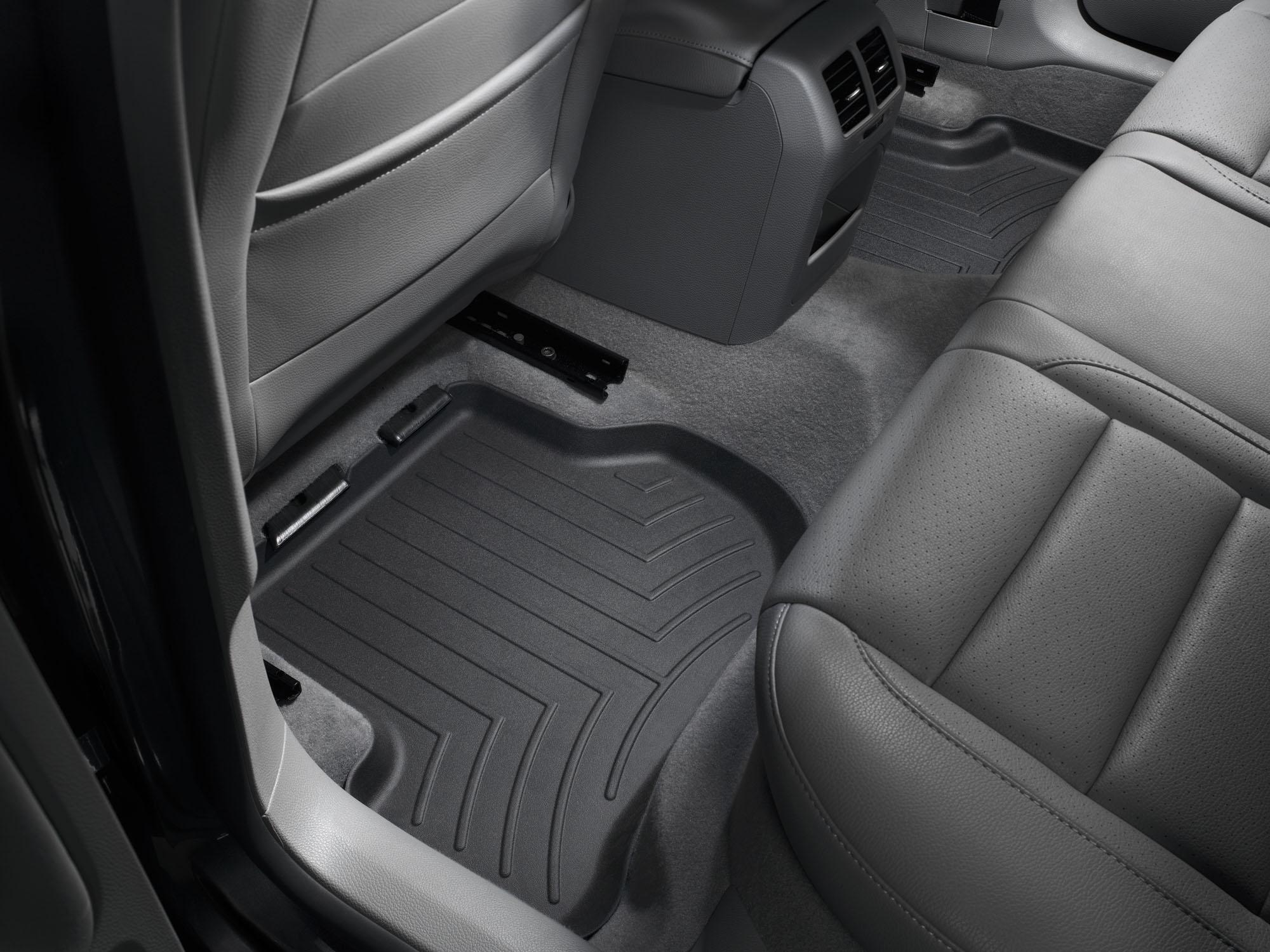 Tappeti gomma su misura bordo alto Volkswagen Golf 12>12 Nero A4057*