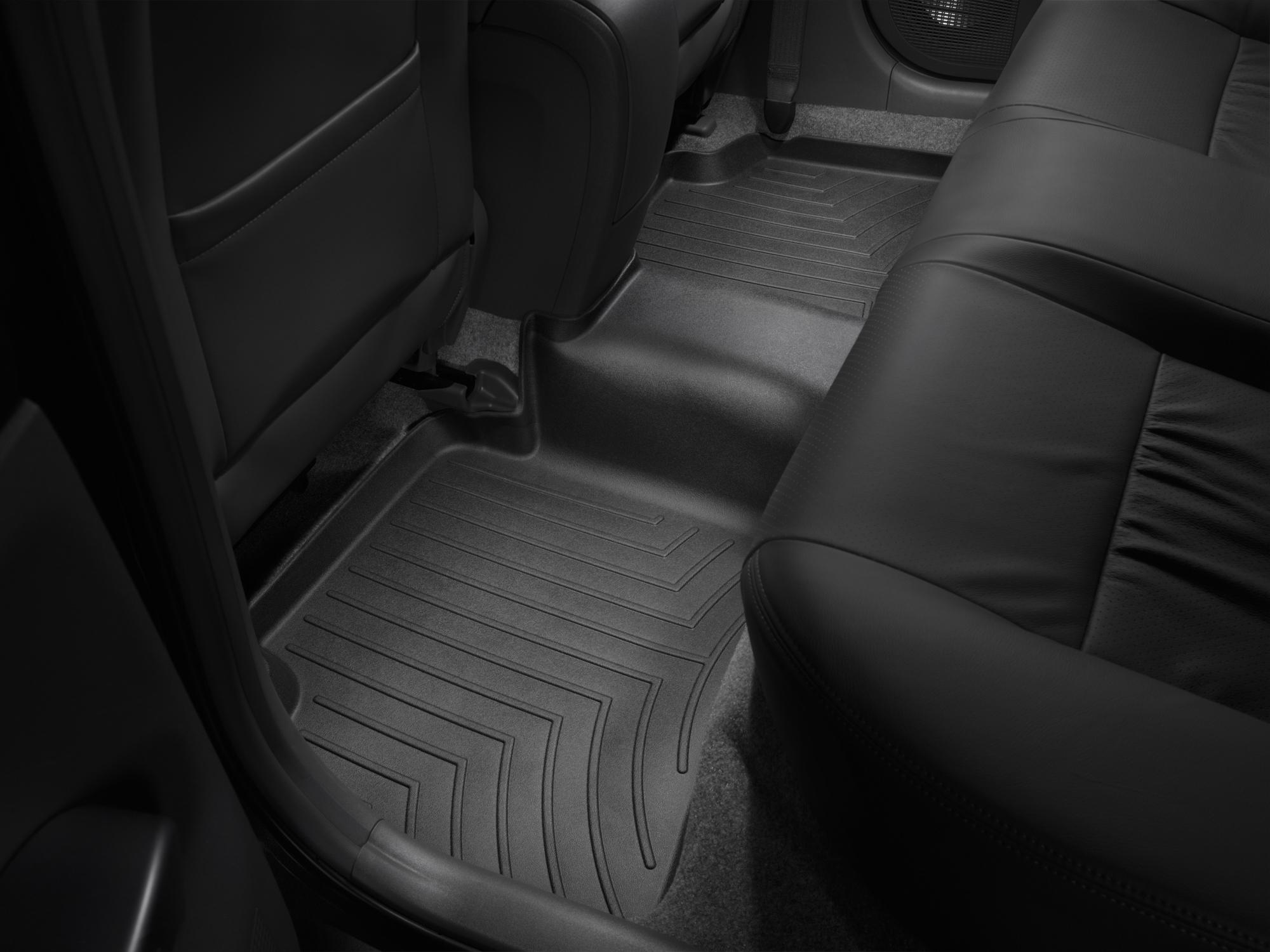 Tappeti gomma su misura bordo alto Toyota Prius 04>08 Nero A3734*
