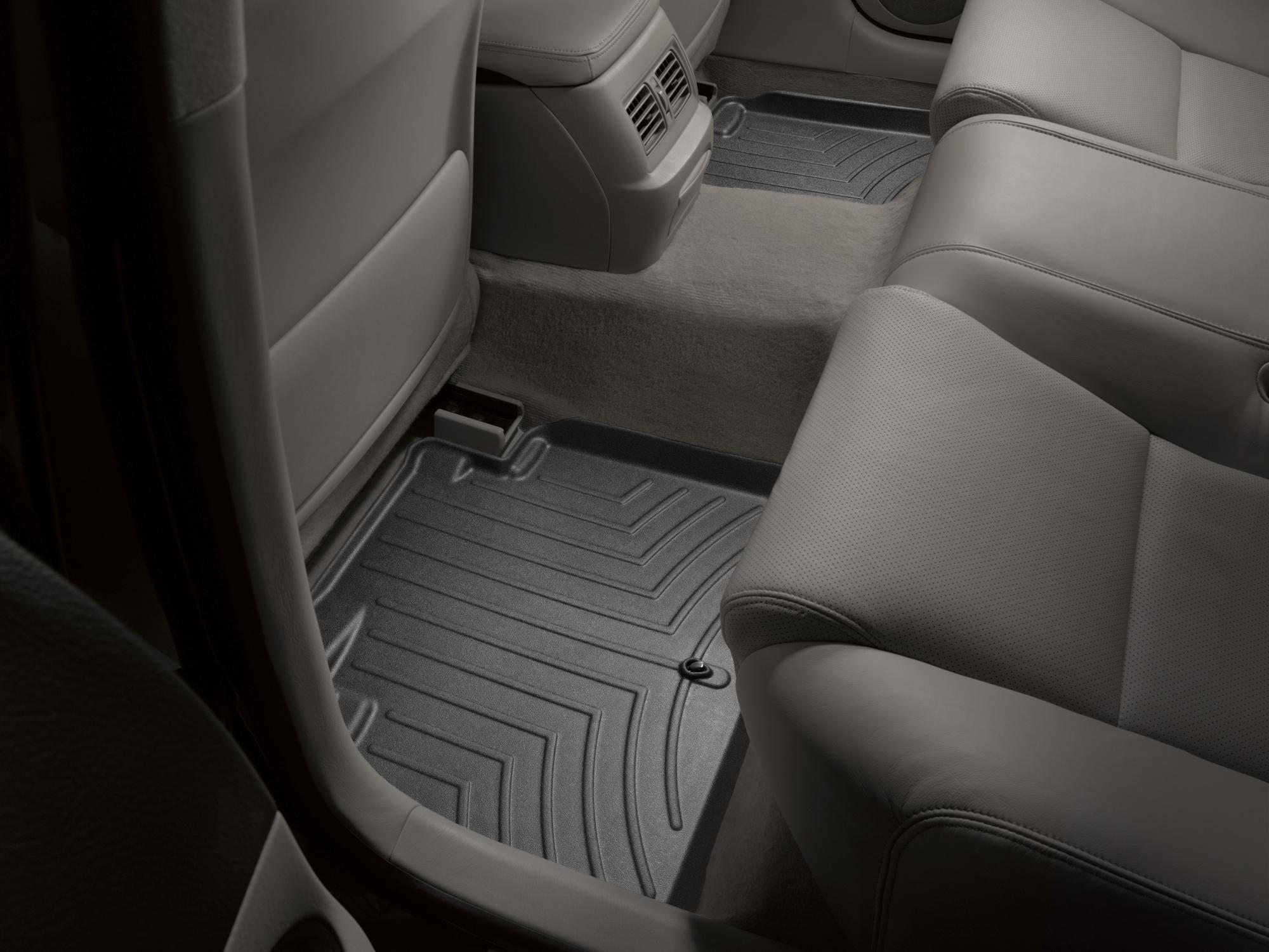 Tappeti gomma su misura bordo alto Lexus GS 450h 07>11 Nero A2037