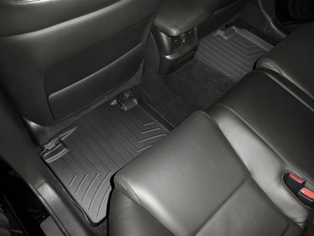 Tappeti gomma su misura bordo alto Lexus GS 300 06>06 Nero A2027