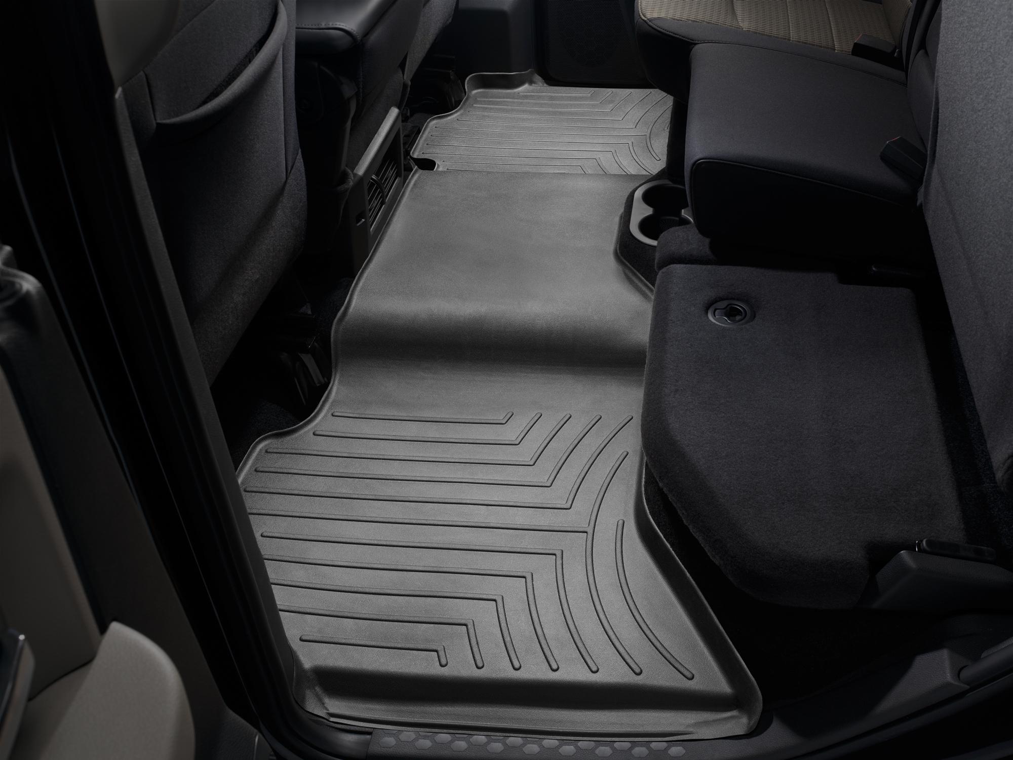 Tappeti gomma su misura bordo alto Dodge Ram Truck 2500/3500 13>17 Nero A730*