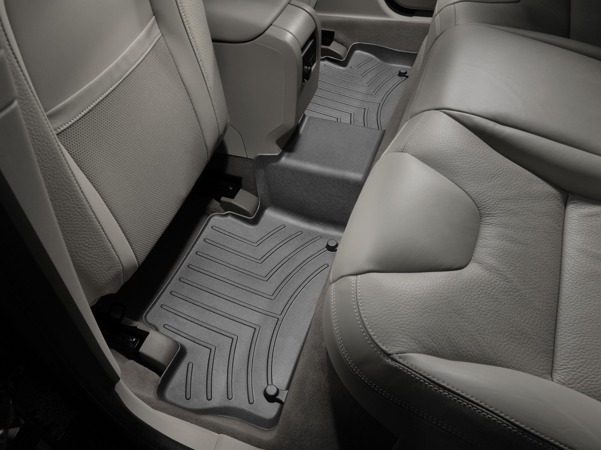 Tappeti gomma su misura bordo alto Volvo XC60 08>17 Nero A4424*