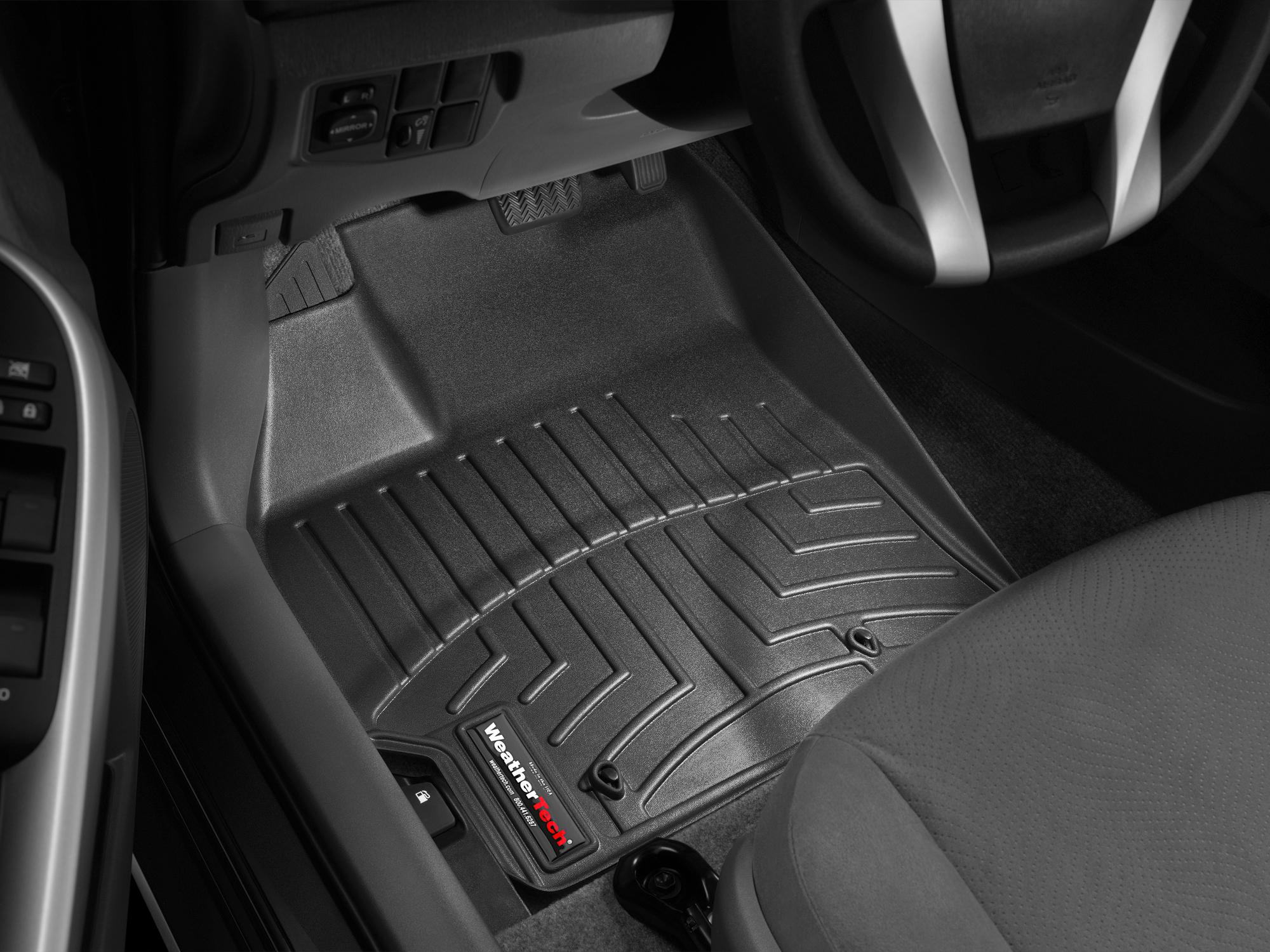 Tappeti gomma su misura bordo alto Toyota Prius 10>11 Nero A3757*