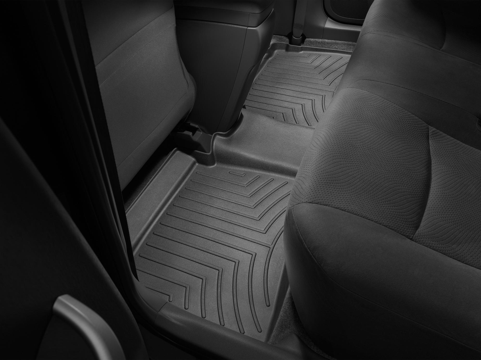 Tappeti gomma su misura bordo alto Toyota Prius 10>15 Nero A3761*