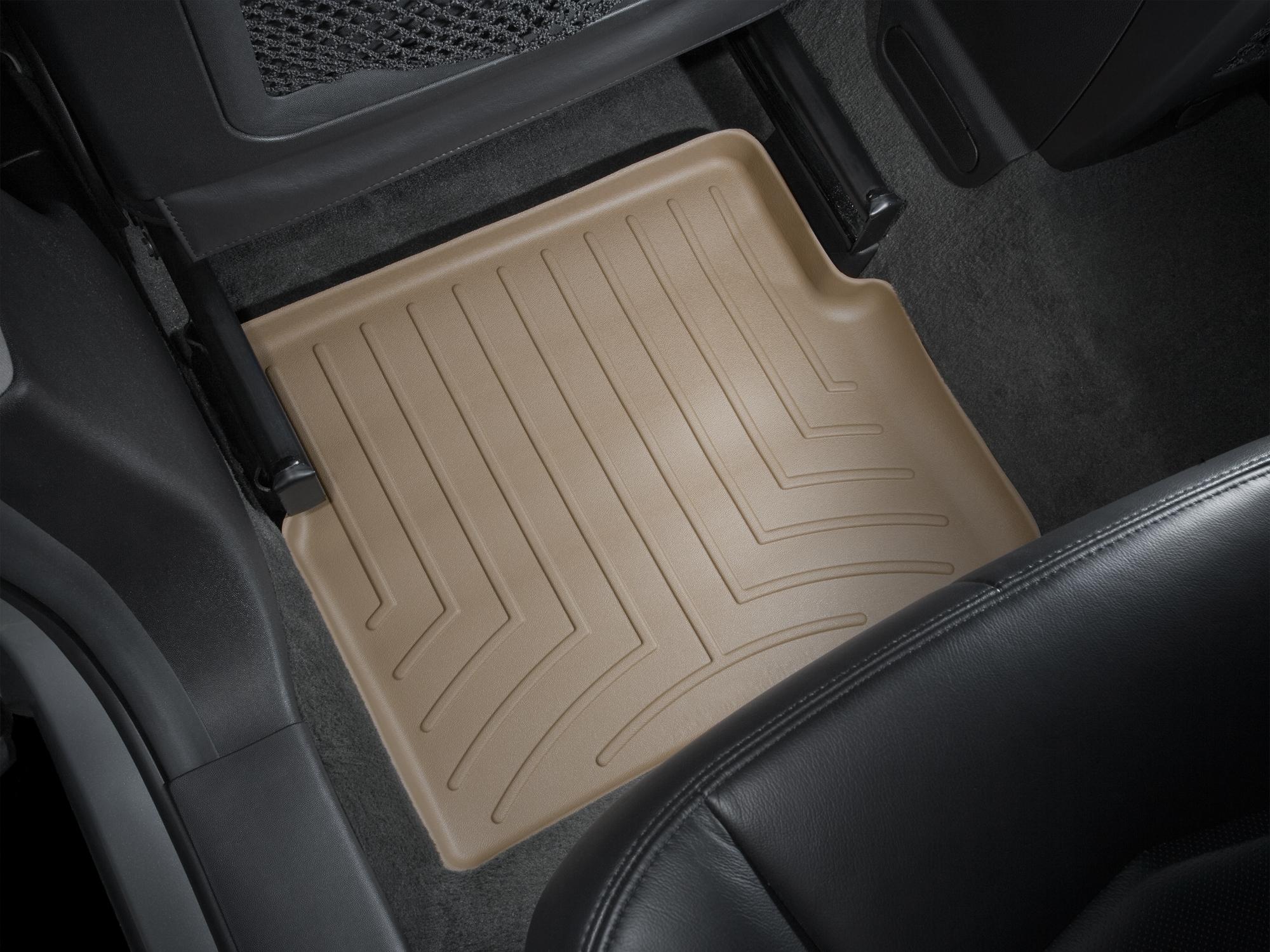 Tappeti gomma su misura bordo alto Cadillac SRX 04>09 Marrone A76*