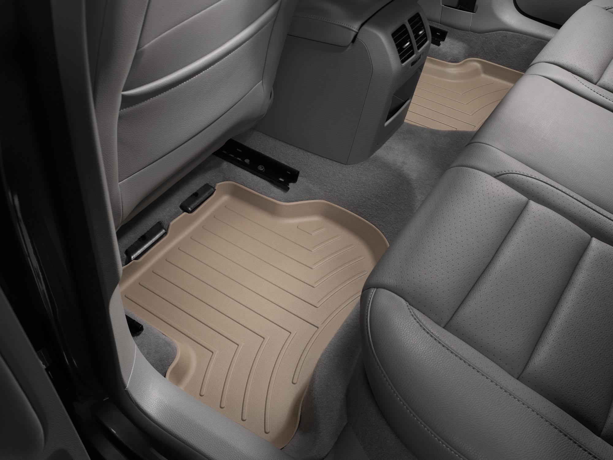 Tappeti gomma su misura bordo alto Volkswagen Golf 12>12 Marrone A4051*